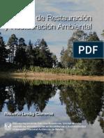 Ecología de la Restauración y restauración ambiental de Roberto Lindig Cisneros 1x1