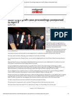 Guan Eng's Graft Case Proceedings Postponed to April 9 _ Malaysia _ Malay Mail Online