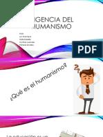 Vigencia Del Humanismo