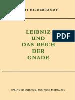 Hildebrandt, K. - Leibniz Und Das Reich Der Gnade