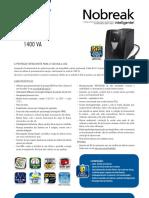 Catalogo de Nobreak SMS Net 4 Plus Expert 1400 VA (26100 130312)