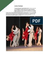 Danza de La Costa Festejo