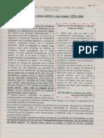 La Dictadura Cívico-Militar y Sus Etapas 1973-1984