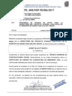 Tecnico de Apoyo Oruro