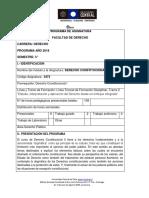 3473 Derecho Constitucional II 2018
