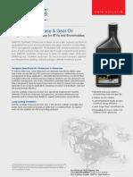 AMSOIL Synthetic Chaincase & Gear Oil (TCC)