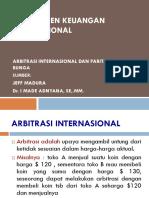 Arbitrasi Internasional Dan Paritas Suku Bunga