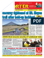 Bikol Reporter November 5 - 11, 2017 Issue