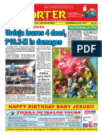 Bikol Reporter December 24 - 30, 2017 Issue
