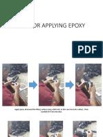 Sop for Applying Epoxy