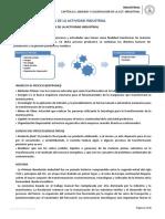 ANÁLISIS Y CLASIFICACIÓN DE LA ACTIVIDAD INDUSTRIAL