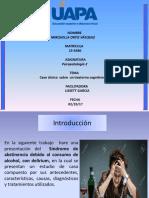 Tarea 5 Psicopatologia 2