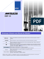 guia de usuário EPSON EMP-S3
