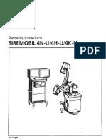 Siemens Siremobil 4 C-Arm - User Manual