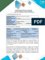 Guía de Actividades y Rúbrica de Evaluación - Fase 5 Evaluación