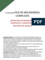 13-CINEMATICA DE MECANISMOS  COMPLEJOS.pptx