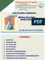 Tema 3_Mezcla de Gases_gases Reales