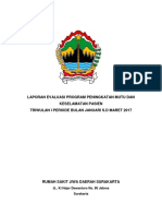 Laporan Evaluasi Program Kerja 1