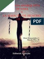 La Prensa anarquista de Lima y la masacre de Huacho de 1917
