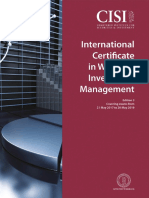 International Certificate in Wealth and Investment Management Ed3