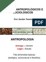1ªdia - Antropologia Como Ciência