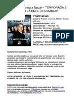 Ncis 2x01 2x20 Latino