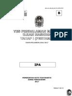 Soal Tryout IPA Paket B 2017.doc
