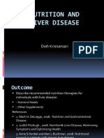 Nutrition and Liver Disease, Sari Digest