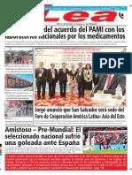 Periódico Lea Miércoles 28 de Marzo Del 2018