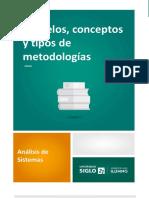 Lectura-Modelos, Conceptos y Tipos de Metodologías