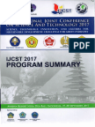International Joint Conference on Science and  Technology 2017