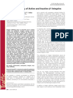 2012_Arjonen Et Al_Distinct Recycling of Active and Inactive β1 Integrins