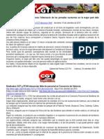 Notas de Prensa CGT-PV Tragsa