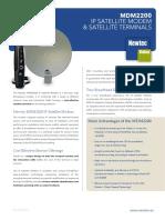 Newtec Mdm2200 on the Newtec Dialog Platform