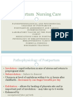 Postpartum Nursing Care Fa 10 Nur 263