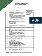 Principle & Value Base Management 1ST Sem