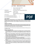 279652 Position Description - Research Assistant (1)