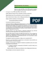 Derecho Procesal Civil Especial