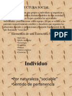 Estructura Social