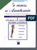 Anatomie Hamoudi Membre Supérieure