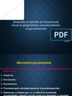 Afectiunile parodontului