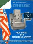 Acroloc Machining Center Brochure