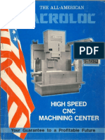 Acroloc Machining Center Brochure