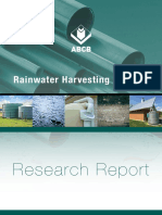 Report on Rainwater Harvesting and Usage
