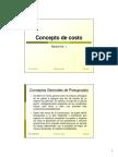 1. Clase No. 1 - Concepto de Costo.pdf
