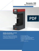 See Unique Features of Rockwell Hardness Tester - Duramin 160