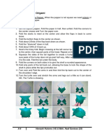 B. Ing ~ How to make Turtle Origami