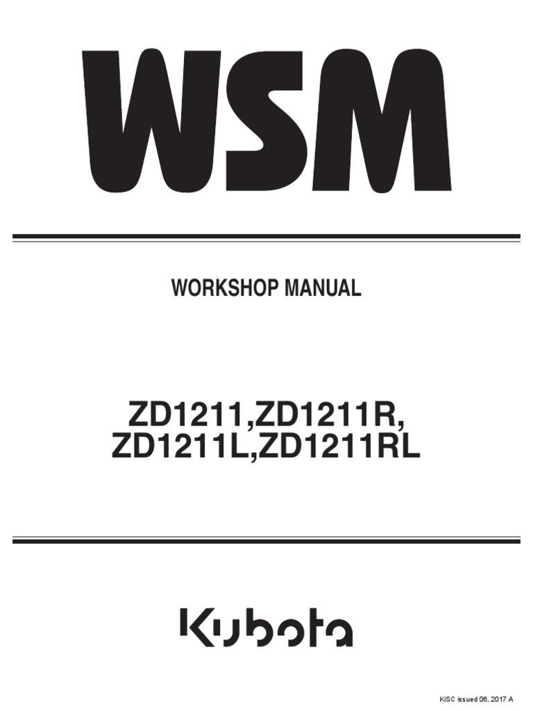 ZD1211, ZD1211R, ZD1211L, ZD1211RL_9Y111-13443[1] WSM Kubota