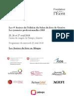 Assises de l'édition francophone