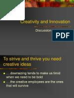 creativity and innovation part i